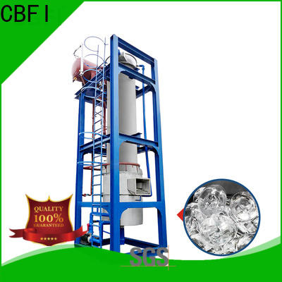 high-tech outdoor ice machine machine overseas market for cooling use