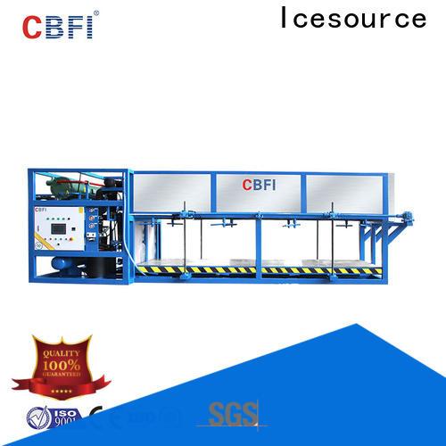 CBFI block direct cooling block ice machine manufacturer for fruit storage