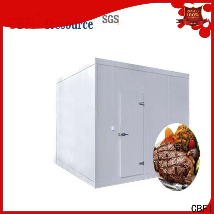 CBFI long-term used cold room design range for vegetable storage