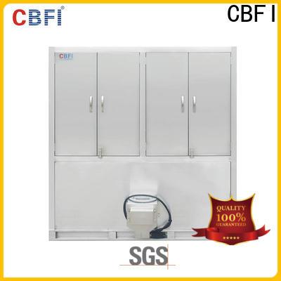 CBFI coolest ice cube machine for freezing