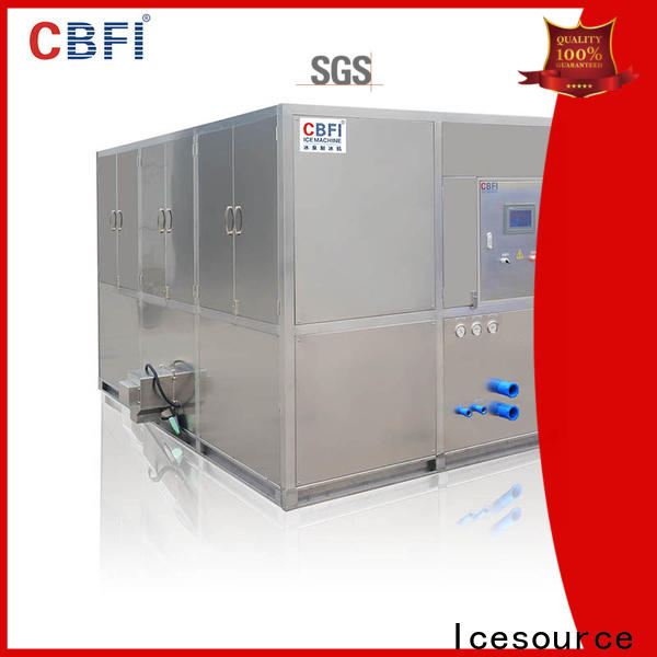 CBFI cube industrial ice cube making machine newly for vegetable storage
