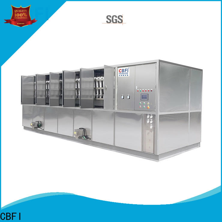 CBFI long-term used large ice cube machine customized for vegetable storage