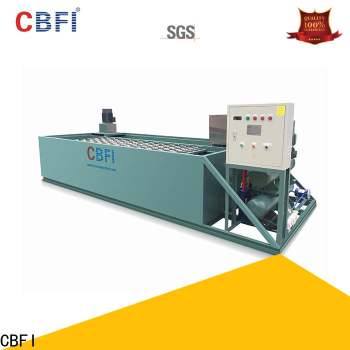 CBFI clean tube ice plant manufacturers free design for summer
