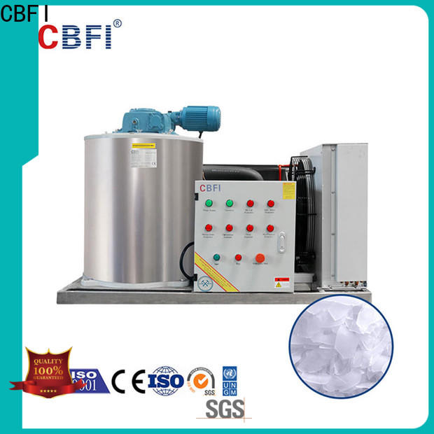 CBFI cooling flake ice making machine price free quote for ice making