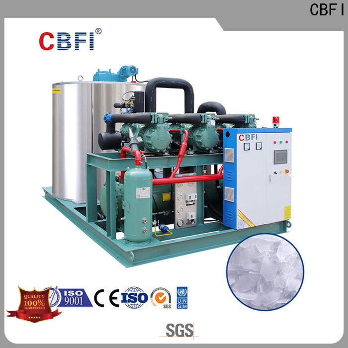 CBFI commercial flake ice machine commercial order now for supermarket