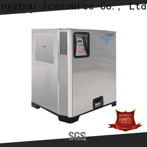 CBFI drinks Nugget Ice Machine vendor for food stores