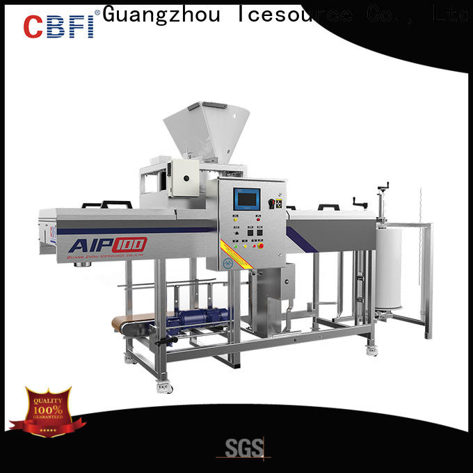 widely used clear ice cube maker machine manufacturing