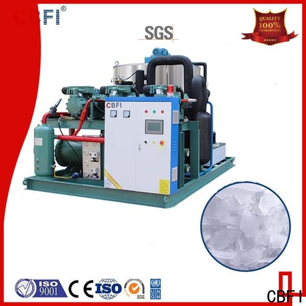 CBFI making industrial flake ice machine long-term-use for cooling use