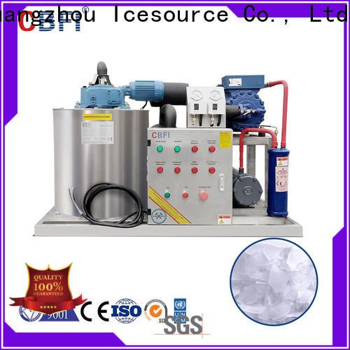 CBFI machine flake ice plant free quote for supermarket