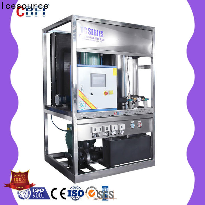 CBFI widely used ice block maker owner for restaurant