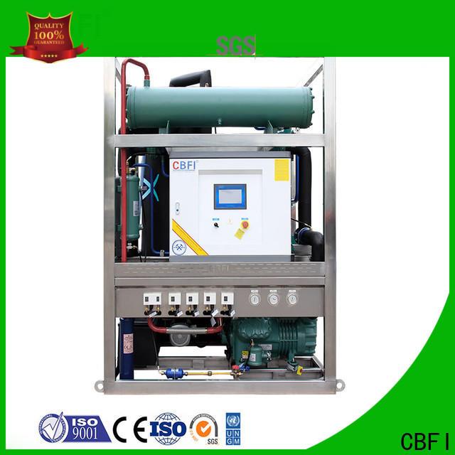 CBFI ice making machine owner for aquatic goods