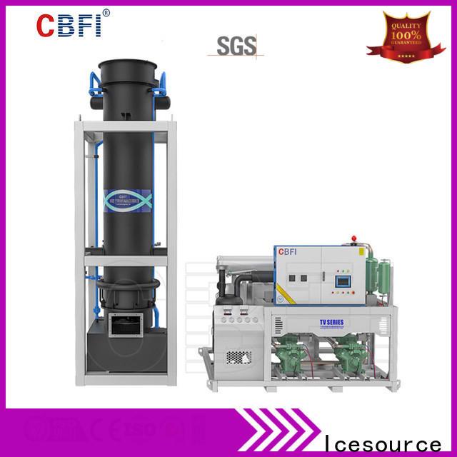 CBFI tube ice machine bulk production for restaurant