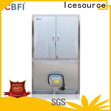 long-term used cube ice machine cube factory price for vegetable storage