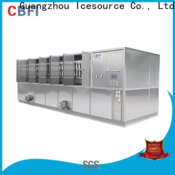 CBFI widely used cube ice maker machine free design for vegetable storage