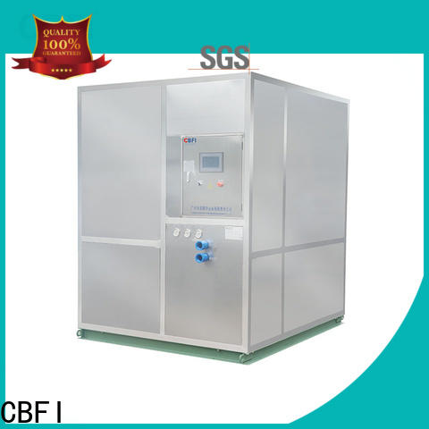 CBFI high-quality plate ice machine in china for ice bar