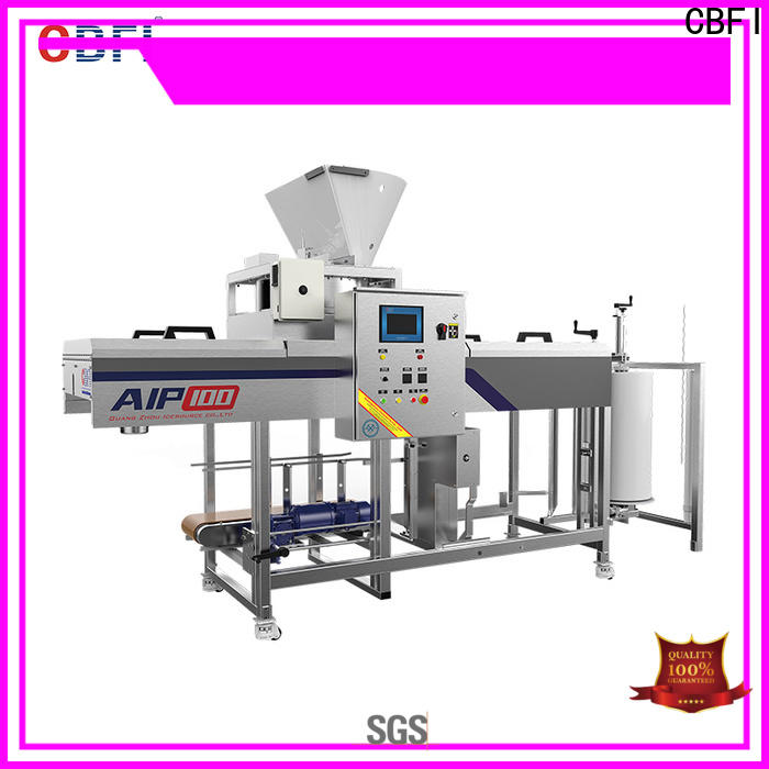 CBFI automatic ice machine plant free quote for ice sphere