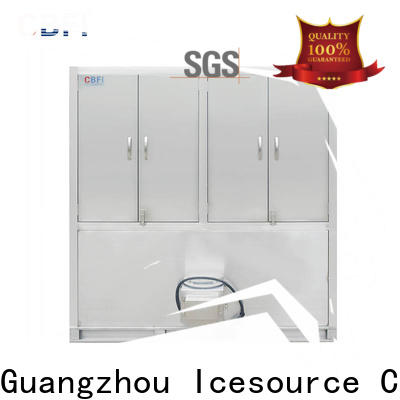 large capacity cube ice machine cube supplier for fruit storage