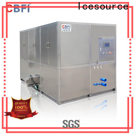 long-term used cube ice machine hotels from china for vegetable storage