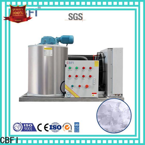 CBFI fine- quality flake ice maker bulk production for supermarket