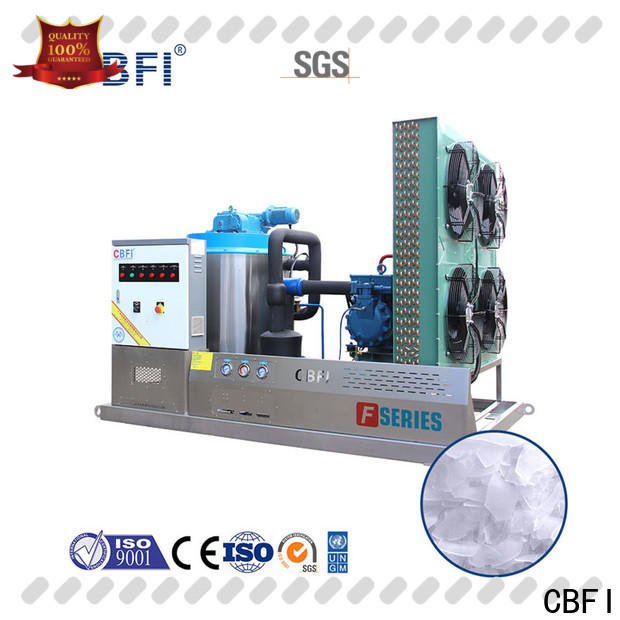 CBFI commercial ice flaker machine price vendor for water pretreatment