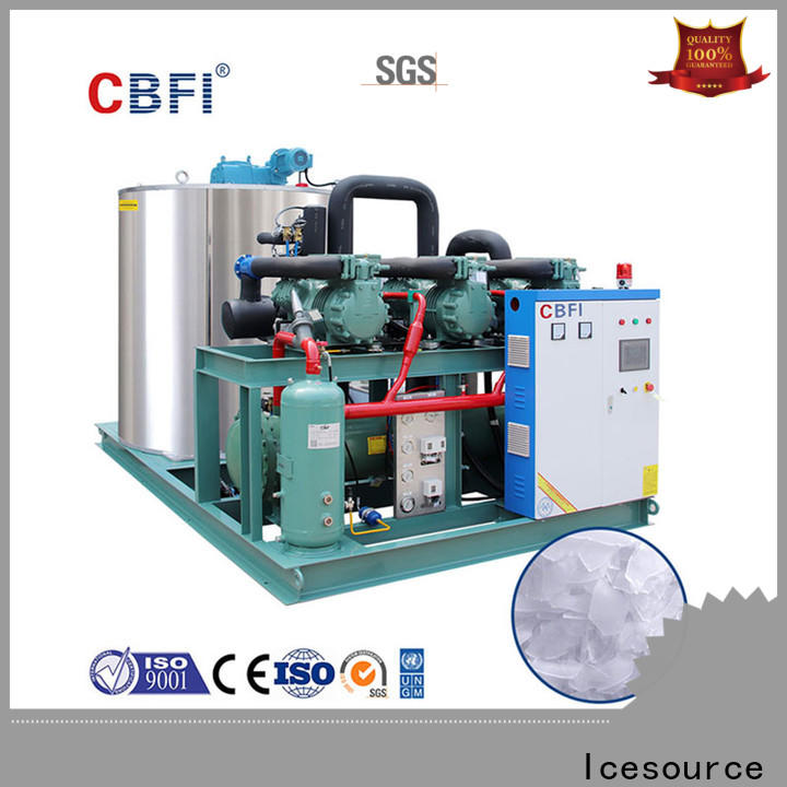 CBFI durable industrial flake ice machine certifications for food stores