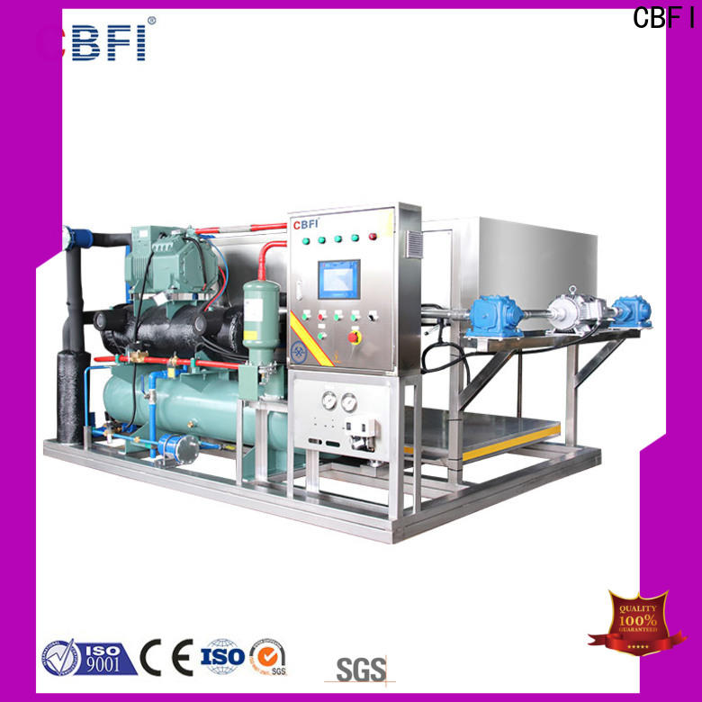 CBFI long-term used commercial ice machine reviews free design for fruit storage