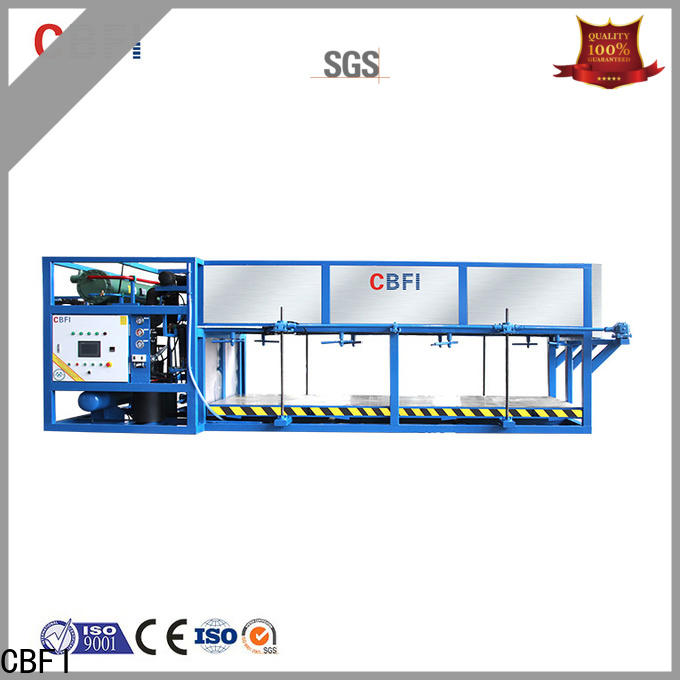 CBFI widely used flake ice machine for sale manufacturer for vegetable storage