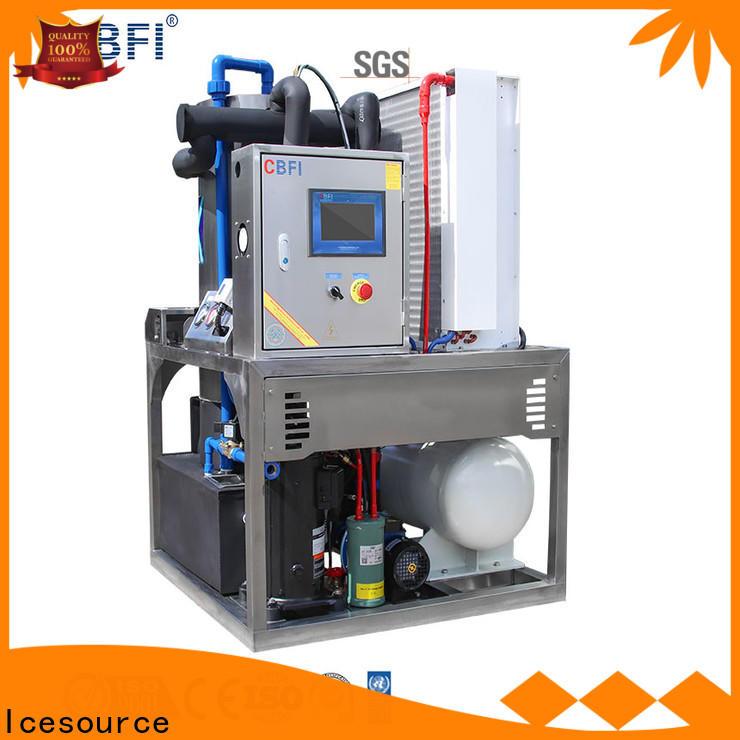 commercial tube ice bulk production for restaurant
