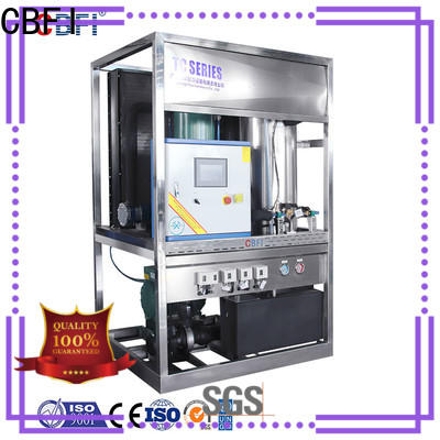 CBFI commercial ice machine free design for wine cooling