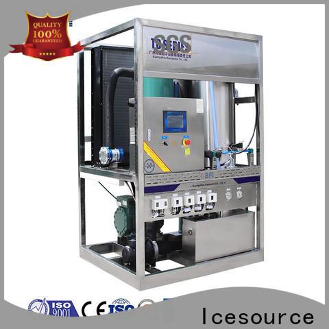 CBFI tube ice machine owner for ice sculpture