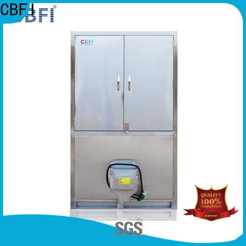 CBFI coolest industrial ice cube machine factory price for fruit storage