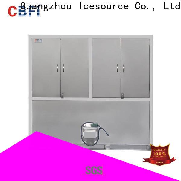 CBFI coolest ice cube machine from china for freezing