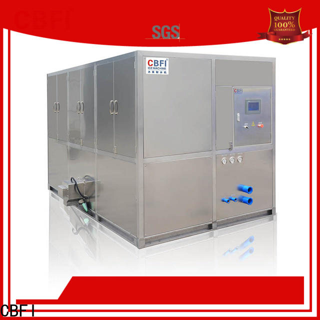CBFI high-quality cube ice machine supplier for vegetable storage