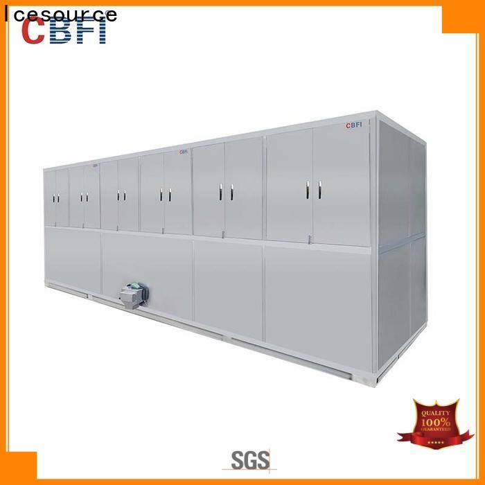 CBFI large cube ice machine free design for fruit storage
