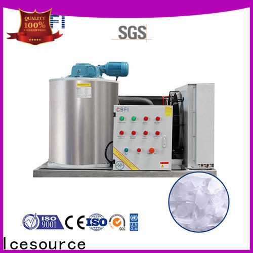 CBFI newly flake ice making machine free quote for water pretreatment