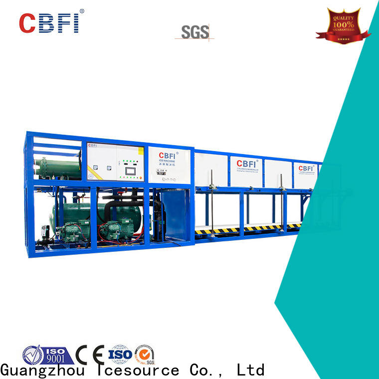 CBFI block domestic ice maker machine newly for vegetable storage