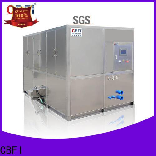 CBFI making cube ice machine order now for fruit storage