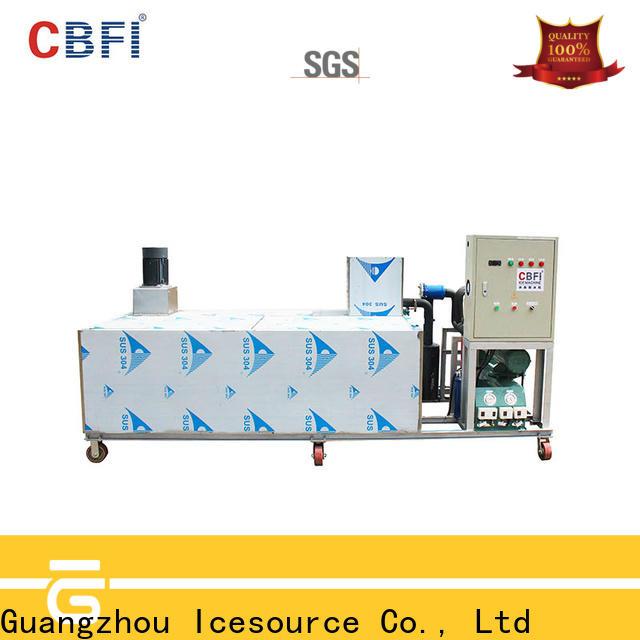 CBFI tube ice plant manufacturers bulk production for cooling