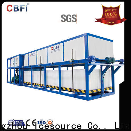 CBFI cooling direct cooling block ice machine order now for fruit storage