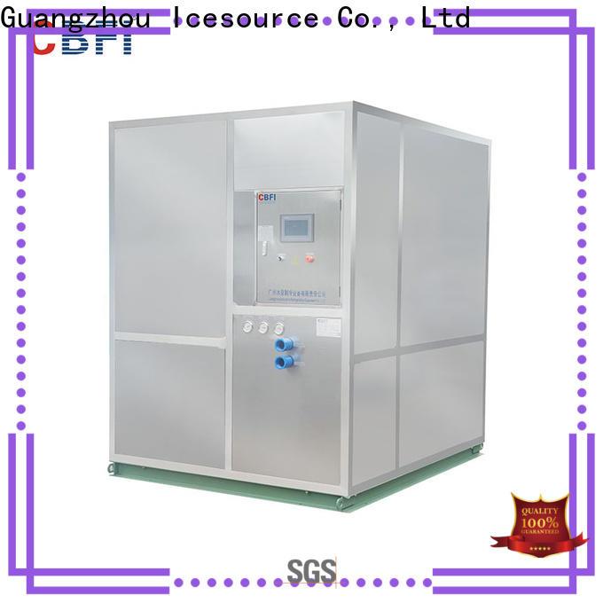 CBFI tons restaurant ice machine type for cocktail