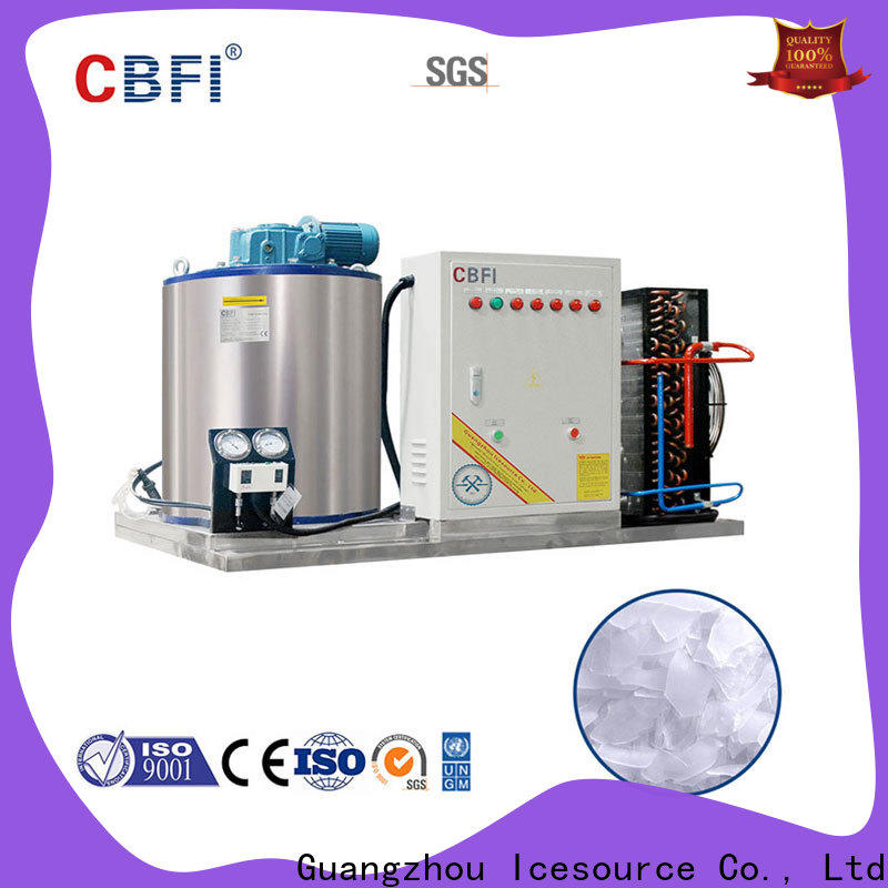 CBFI nice flake ice making machine price vendor for aquatic goods