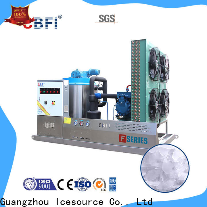 CBFI excellent flake ice making machine price long-term-use for food stores
