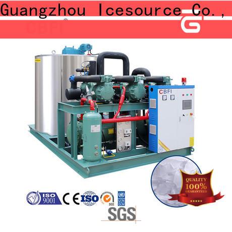 CBFI cooling flake ice maker bulk production for supermarket