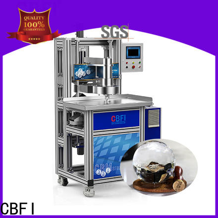 CBFI carving tabletop ice machine for ball ice making