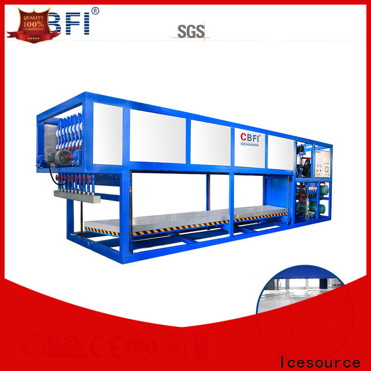 CBFI day ice machine compressor free design for vegetable storage