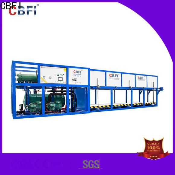 CBFI auto commercial ice machine reviews factory for freezing