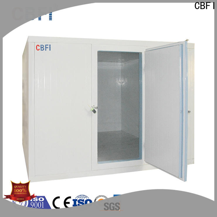 CBFI frozen cold room for meat and fish range for fruit storage