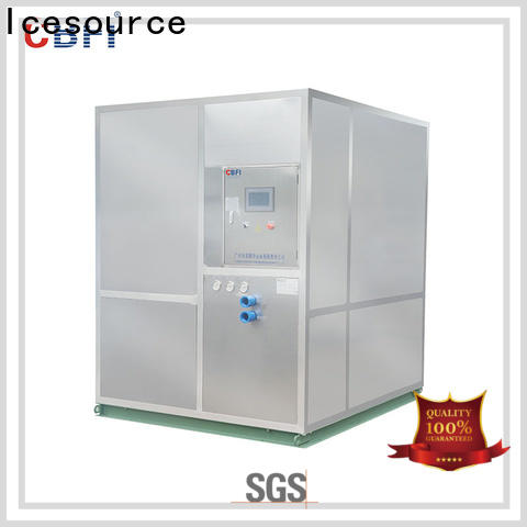 CBFI cooling plate ice machine at discount for ball ice making