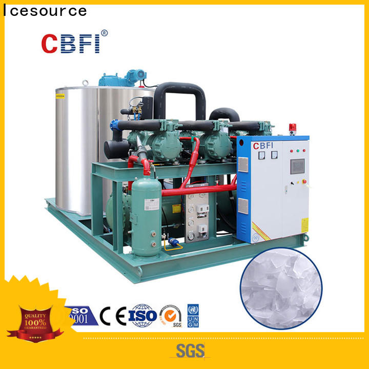 CBFI making flake ice machine commercial free design for water pretreatment