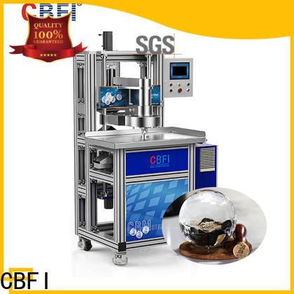 CBFI consumption outside ice machine for whiskey